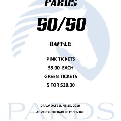 PARDS 50/50 Raffle